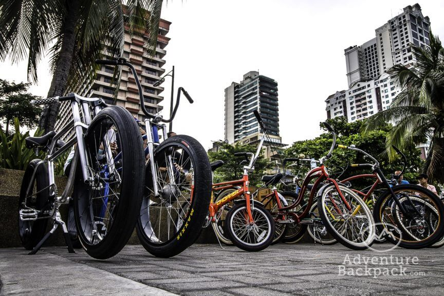 Custom bikes in Manilla